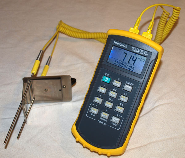Omega Data Acquisition : Omega datalogger and the hottop coffee troupe