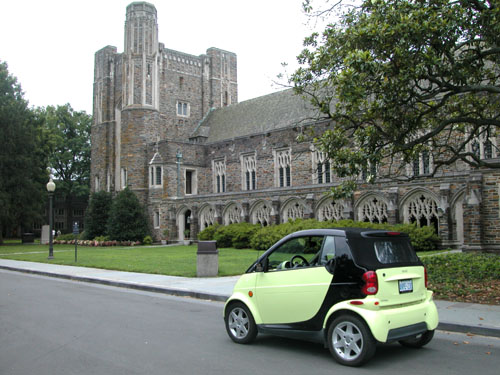 Another pretty building at Duke University