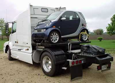 Smart loaded, secured and ready to go.