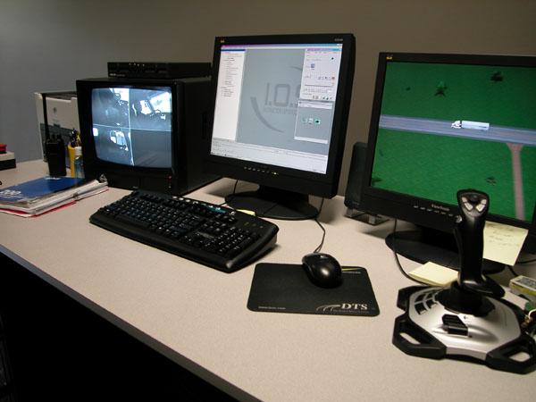 Simulator console