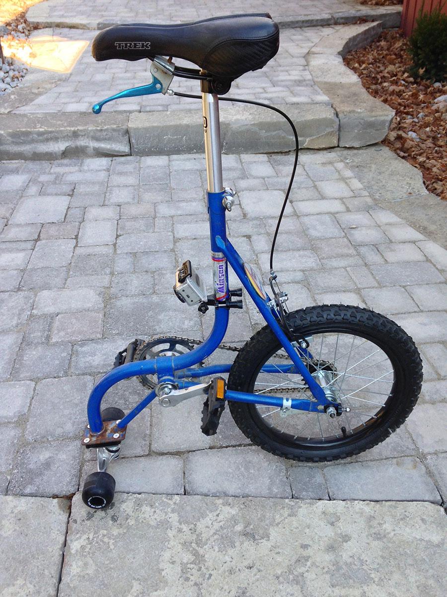 Skate Bike with GoPro