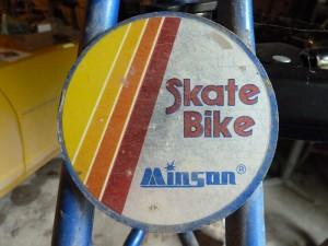 Minson logo plate